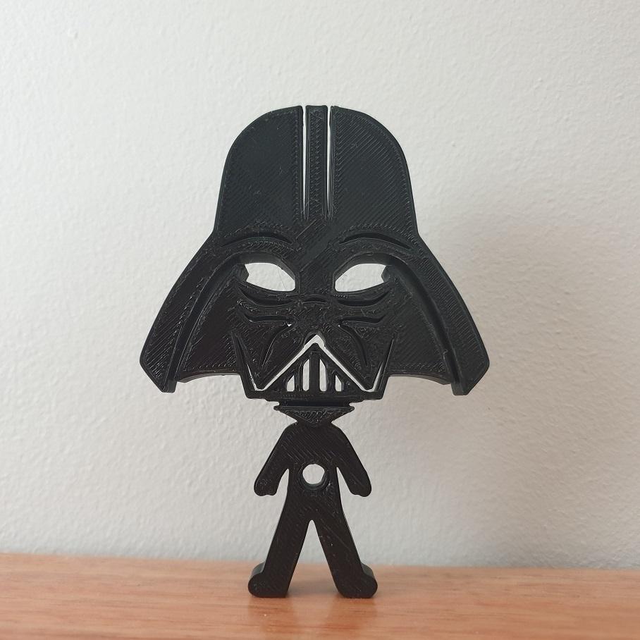 20200902_152427.jpg Télécharger fichier STL gratuit Porte-écouteurs Star Wars • Design pour impression 3D, CheesmondN