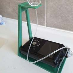 Download free 3D printing files Insulin pump stand, CheesmondN