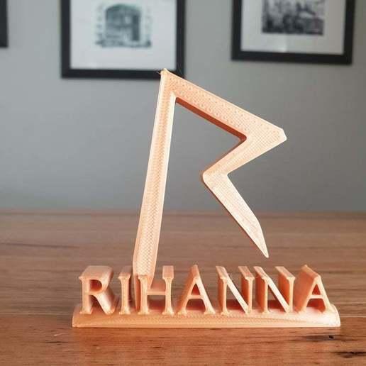 20200426_131043.jpg Télécharger fichier STL gratuit Ornement de Rihanna • Modèle imprimable en 3D, CheesmondN