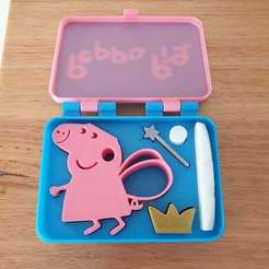 20201201_175125.jpg Download free STL file Peppa Pig in a box • Object to 3D print, CheesmondN