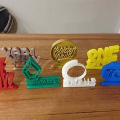 Download free 3D printing models Road to Kingdom ornaments (KPOP), CheesmondN