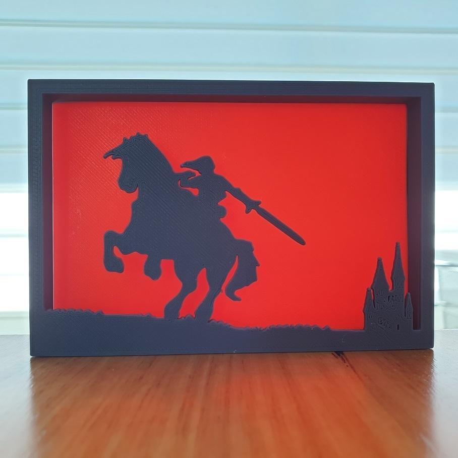 20200903_122154.jpg Télécharger fichier STL gratuit Ornements de silhouette Zelda • Plan imprimable en 3D, CheesmondN