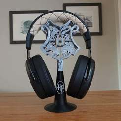 20201015_080200.jpg Download free STL file Harry Potter Headphone Stand • 3D printer design, CheesmondN