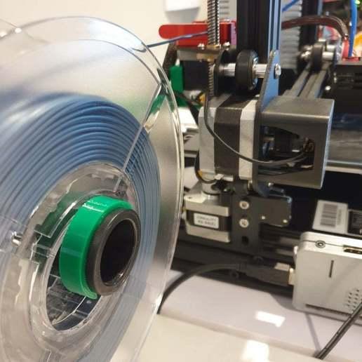 Télécharger fichier impression 3D gratuit Ender 3 Pince porte-bobine latérale, CheesmondN