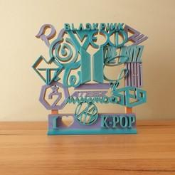 Download free STL file Large KPop ornament • 3D printer model, CheesmondN