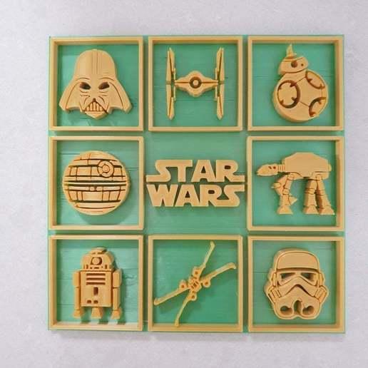 Télécharger fichier STL gratuit Image de Star Wars • Modèle à imprimer en 3D, CheesmondN