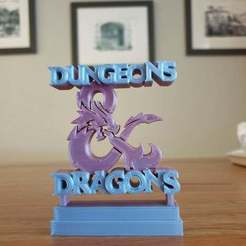 Download free 3D printing templates Dungeons and Dragons ornament, CheesmondN
