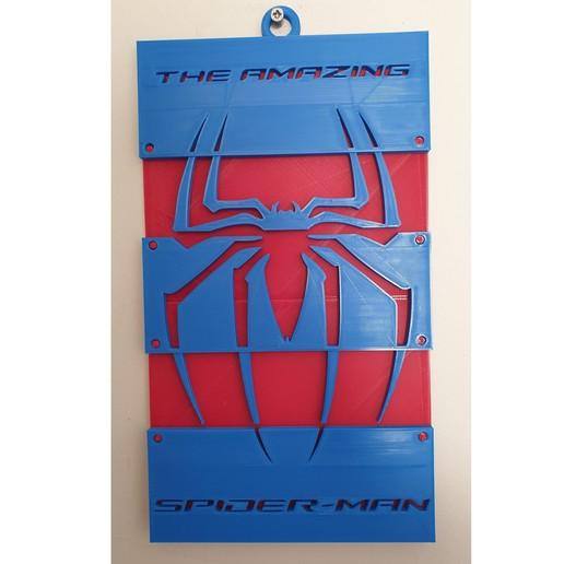 Télécharger fichier STL gratuit Suspension du mur Spiderman • Design à imprimer en 3D, CheesmondN