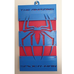 Download free 3D printer designs Spiderman Wall Hanging, CheesmondN