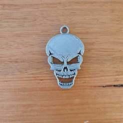 c20201028_180721.jpg Télécharger fichier STL gratuit Porte-clés crâne • Modèle imprimable en 3D, CheesmondN