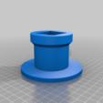 Music_headphone_stand_base.png Télécharger fichier STL gratuit Support pour écouteurs de musique • Plan à imprimer en 3D, CheesmondN