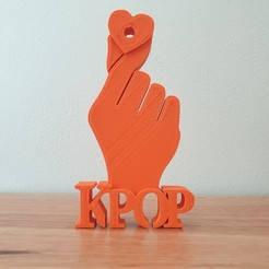 20200903_135354.jpg Download free STL file KPop earphone earbud holder • Design to 3D print, CheesmondN