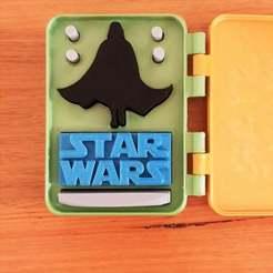 20201001_183240.jpg Télécharger fichier STL gratuit Star Wars en boîte • Design pour imprimante 3D, CheesmondN