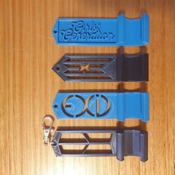 20200908_174711.jpg Download free STL file KPop keychain phone stands (8 groups) • 3D printing model, CheesmondN