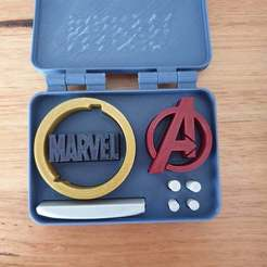 20201002_071250.jpg Download free STL file Marvel Avengers in a box • 3D printer template, CheesmondN
