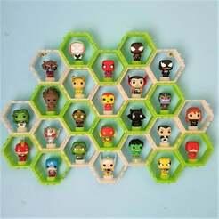 20210112_141637.jpg Télécharger fichier STL gratuit Exposition de mini figurines funko pop • Design imprimable en 3D, CheesmondN