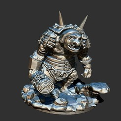 1.jpg Download free STL file Troll Spellforce • 3D printer object, ArtTavern