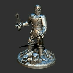1.jpg Download free STL file Human Recruit infantry Spellforce • Design to 3D print, ArtTavern