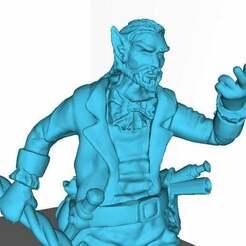 IOHle0uaE5g.jpg Download free STL file Elf / Halfelf Mage • 3D print template, ArtTavern