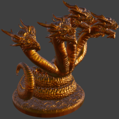 thing.PNG Download free STL file Hydra • Model to 3D print, ArtTavern