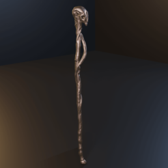 untitled4.png Download STL file Alastor Mad-eye Moody walking stick - STL files for 3D printing 3D print model • 3D print model, Fralans3D