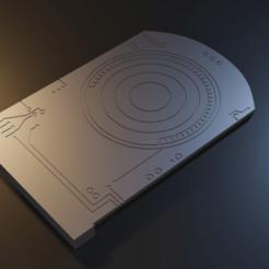 untitled4.png Télécharger fichier STL Star Wars Death Star Plans Board - modèle 3D pour l'impression 3D • Design imprimable en 3D, Fralans3D