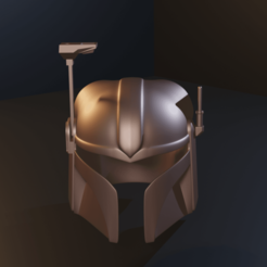 untitled3.png Download STL file Mandalorian Twi'lek Helmet  • 3D printing template, Fralans3D