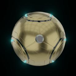 Descargar archivo STL Overwats - El orbe de Zenyatta - Modelo 3D para impresión en 3D • Plan de la impresora 3D, Fralans3D