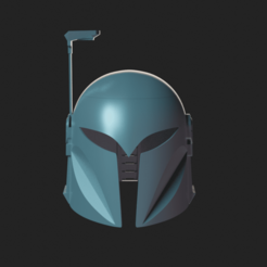 untitled9.png Download STL file Bo-Katan helmet replica (the mandalorian version) • 3D printer design, Fralans3D