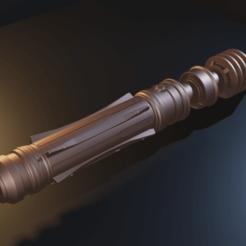 Imprimir en 3D El sable de luz de Star Wars Leia - Modelo 3D para impresión en 3D, Fralans3D