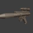 Download 3D model Star Wars Rebel Trooper Blaster DH-17 - 3D model for 3D printing, Fralans3D