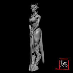 ELFA NAT 4.png Download STL file Sexy Faun Girl • 3D printer model, belencastrogiovanni