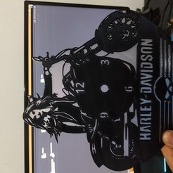 Télécharger fichier STL Montre Harley-Davidson 2 en vinyle • Plan à imprimer en 3D, lMolotov