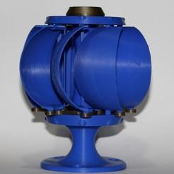 IMG_9161.JPG Download STL file windmill, windball, windyball • 3D printing design, steinerleeroy