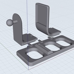 Download free 3D printing designs Mavic magnetic phone mount, Bluecorn65