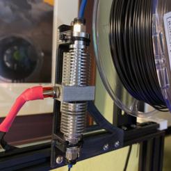Imprimir en 3D gratis Soporte del secador de filamentos Thordsen (IFD), Bluecorn65