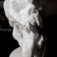 Immagine 2020-10-18 133240.png Download STL file Skull Spectral 3D Stl • 3D print object, manueldx95