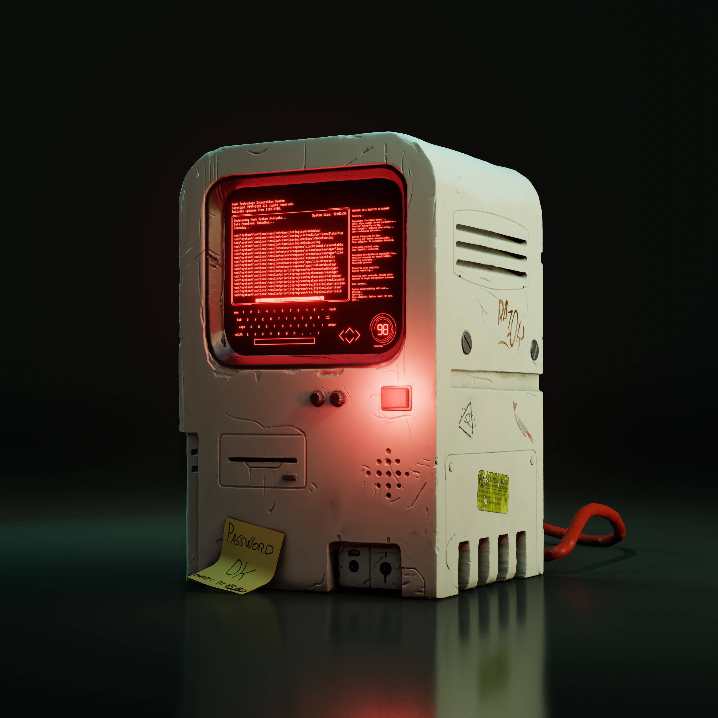 Machine.jpg Download STL file Machine 3D Stl • 3D printable model, manueldx95
