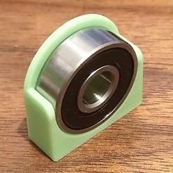 Télécharger fichier SCAD gratuit Clip de palier Snap-In 608 • Modèle imprimable en 3D, ali1234
