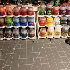 Descargar archivos STL gratis Bastidores de pintura para juegos de guerra, Jepod