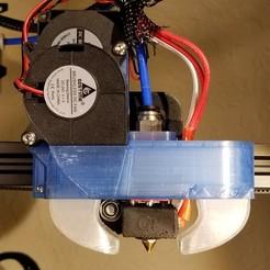 Descargar modelo 3D gratis QMB Ender 3 hot-end y enfriador de piezas, glabifrons