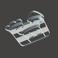 Foto1.jpg Download STL file Pack X7 Assorted cookie cutters ideal for birthdays • 3D printing design, martinzotti
