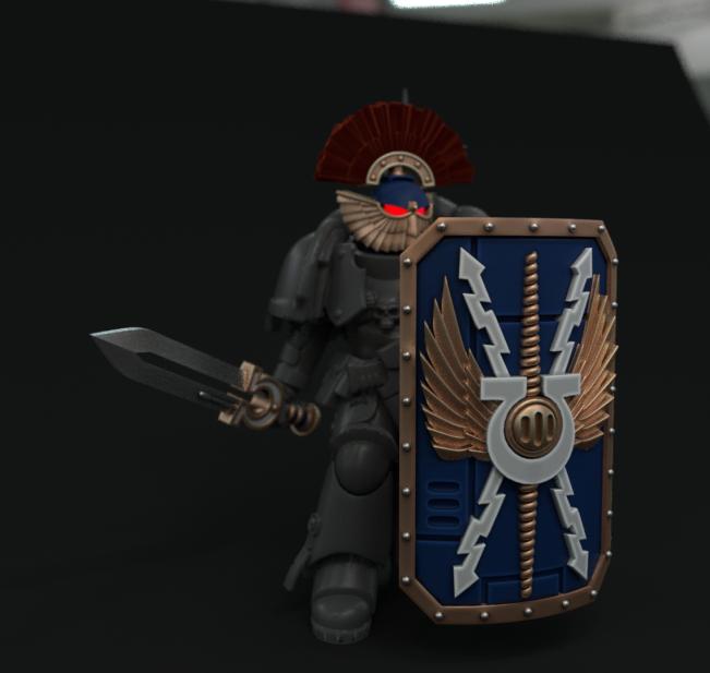 posed_marine.png Download STL file Ultra Chapter Bladeguard/Terminator upgrade set • 3D printer design, vb2341