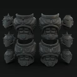 cults_pack1.jpg Download STL file Sanguine Angel Torso and Heads • 3D printable design, vb2341