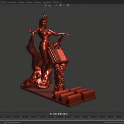 Download 3D printing models Demon phone support, Zelgiust