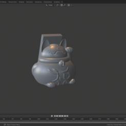screen.png Télécharger fichier STL gratuit Support téléphone Maneki neko • Modèle pour imprimante 3D, Zelgiust