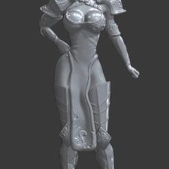 DIANE 7DS Armure 1.png Télécharger fichier STL gratuit Statue Diane Seven Deadly sins, guerrière sexy anime  • Design à imprimer en 3D, Zelgiust