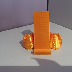 20200519_102219.jpg Download free STL file Maneki neko phone holder • 3D printable object, Zelgiust