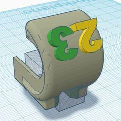 Download free 3D printer files Ender 3 Rail Cover #23, deekei29