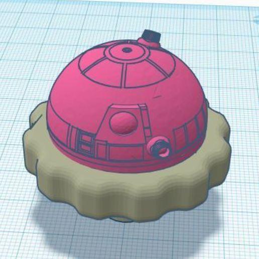 Télécharger modèle 3D gratuit bouton de l'extrudeuse r2d2, deekei29